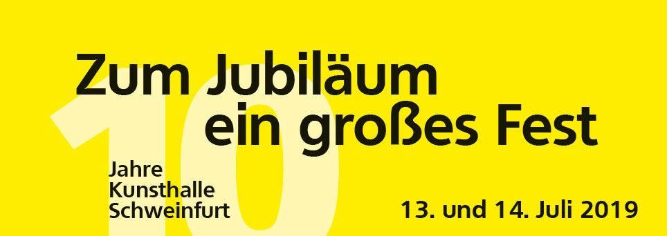 Miniaturbild: 10 Jahre Kunsthalle Schweinfurt - Zum Jubiläum ein großes Fest