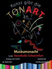 Miniaturbild: Kunst gibt die Tonart an - Museumsnacht in der Kunsthalle Schweinfurt