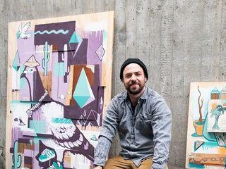 Miniaturbild: Philipp Katzenberger. Gewinner Graffiti- und Street Art Wettbewerb 2020